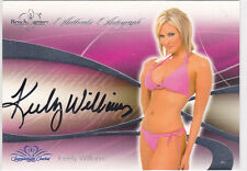 KEELY WILLIAMS 2008 BENCHWARMER AUTO    MINT