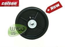 "FREE SHIP,COLSON, 6""x1-1/2"" DECK WHEEL FOR JOHN DEERE LAWNMOWERS,REPL. AM107560."