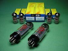 Set DI TUBI = 2 x el34 JJ (MATCHED PAIR) + 4 x ecc83s JJ NUOVO - > MARSHALL TUBE AMP