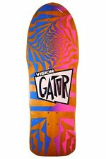 Vision Mark Rogowski GATOR 2 LIMITED EDITION Skateboard Deck ORANGE STAIN