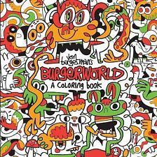 Jon Burgerman's Burgerworld : A Coloring Book (2016, Paperback)