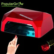 DE Stock 36W CCFL&LED LED Nail UV Lamp Shaped Gel Curing Machine Nail Dryer