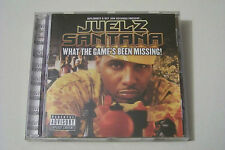 JUELZ SANTANA - WHAT THE GAME´S BEEN MISSING CD 2005 (Lil Wayne Camron Razah)
