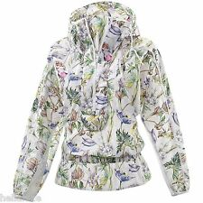 STELLA McCARTNEY adidas IMAGE PRINT sweat shirt Hoodie dress Jacket~Womens sz XS