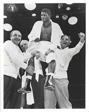 FLOYD PATTERSON WINS TITLE 8X10 PHOTO BOXING PICTURE
