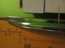 """1950 Plymouth Stainless Steel Rocker Panel Molding LH 75"""" Long Driver Side"""