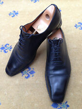 GUCCI Scarpe Da Uomo Nero Pelle Stringati UK 10 US 11 EU 44 MADE IN ITALY