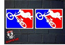 PEGATINA STICKER AUTOCOLLANT ADESIVI AUFKLEBER DECAL BMX BIKE