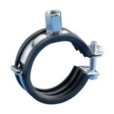 Caddy 32mm - 35mm Rubber Lined Superfix Pipe Clamp Fixing #22L230
