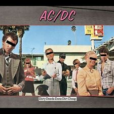 AC/DC - DIRTY DEEDS DONE DIRTY CHEAP, Brand New Not Sealed