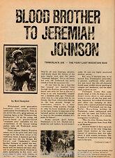 Dubois, Wyoming Timberlake Joe - Blood Brother To Jeremiah Johnson Mountain Man