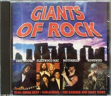 Various Artists - Giants Of Rock (CD 1993) (Motorhead,Hawkwind,Colosseum,Magnum)