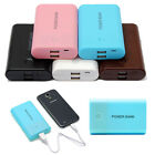 Portable 8400mAh 2 USB Universal External Battery Power Bank Pack Charger Phone