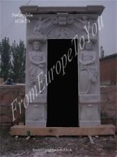MAN OF THE MOUNTAIN FIGURAL ESTATE MASSIVE MARBLE ENTRY WAY - ENT96
