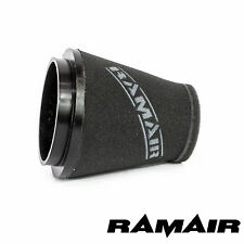 RAMAIR INDUCTION FOAM CONE AIR FILTER UNIVERSAL 125mm 5inch NECK MADE IN THE UK