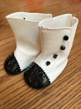 American Girl Rebecca White Boots For Doll
