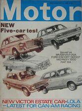 Motor magazine 18/5/1968 featuring TVR, Fiat, Ford,Riley, Saab, Fairthorpe, Lola