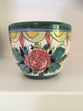 Vintage Mid Century Italian Pottery Planter Pot Vase