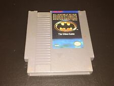 Batman The Video Game Nintendo Nes Cleaned & Tested