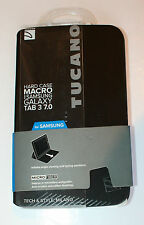 TUCANO HARD SHELL MACRO CASE FOR SAMSUNG GALAXY TAB 3 7.0  - BLACK - NEW