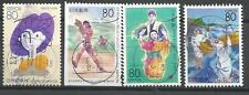 ˳˳ ҉ ˳˳PM-36 Japan Prefectural SON Postmark Sport Painting Recent set Japon 日本