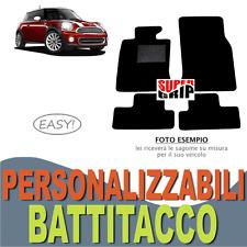 PER MINI COOPER ONE R55 R56 R57 TAPPETINI AUTO IN MOQUETTE CON BATTITACCO | EASY