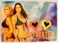 KITANA BAKER TANYA BALLINGER BIKINI SWATCH CARD BENCH WARMER AUTHENTIC CAT FIGHT