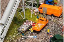 Faller 180534 HO 1/87 Set panneaux de route