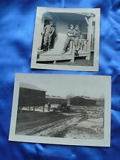 WW2 USAAF Fighter Pilot KIA 1944 Italy 2 Pal PHOTOS BELFORD J KEINSTED of PENN