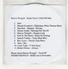 (GG150) Marcus Worgull, Radio Texel - DJ CD
