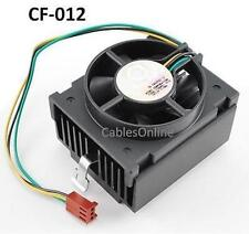 Original 3-Pin Intel Socket 370 3-Wire DC 12V CPU Cooling Fan w/ Heat Sink
