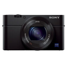New Sony Cyber-Shot DSC-RX100 III Digital Camera, Plus New Extra Battery