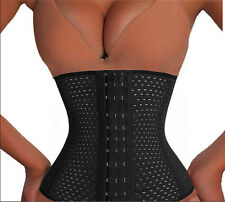 Hot Girls Waist Training Cincher Corset Girdle Body Trainer Shaper Shapewear M