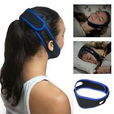 Snore Stop Belt Snoring Cpap Chin Strap Anti Sleep Apnea Jaw Solution TMJ Health