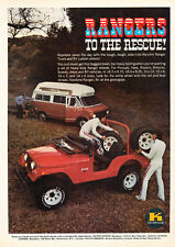 1974 Keystone Jeep CJ - Vintage Advertisement Car Print Ad J414