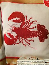 Catch of the day coussin cross stitch chart