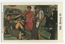 1970s Swedish Pop Star Card #37 German Ma Baker disco group Boney M