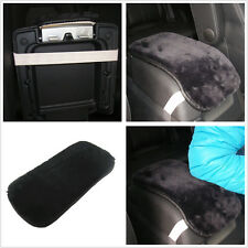Car Armrest Arm Rest Console Cover Seat Box Pad PU Leather Mat For Honda Toyota