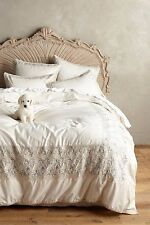 Anthropologie Embroidered Hilvi Duvet KING - NWT
