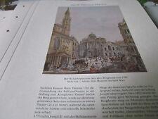 Wien Archiv 6 Kultur 3057 Michaelsplatz altes Burgtheater 1785 C. Schütz