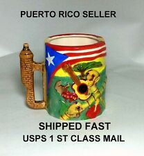 Isla Puerto Rico Flag Coffee Mug Cup Winter Hot Breakfast Kitchen Food CookingYY