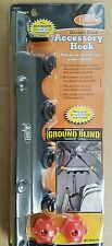 Ground blind accessory hook for hunting blinds and tents