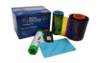 Real-Colors Card printer ribbon Compatible HITI 400prints for HITI cs200e cs220e