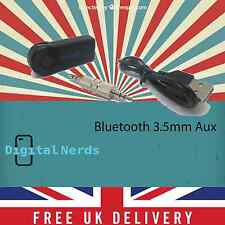 Wireless Bluetooth 3.5MM AUX Audio Home/Car Receiver Adapter A2DP