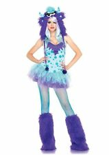 Teen or Adult Polka Dotty Monster Costume- Sexy Cute Fun Cozy Fearless- Size XS