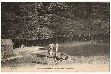 CPA 78 - MARLY LE ROI (Yvelines) - 20. Le Haras - Paysage (petite animation)