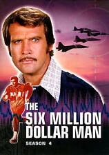 THE SIX MILLION DOLLAR MAN  ~ Complete Season 4~  8 DISC DVD SET  LEE MAJORS