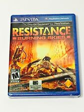 (Brand New, Sealed) Resistance Burning Skies PlayStation PS Vita Game