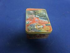 JEFF GORDON, FIVE ALL-METAL COLECTOR CARDS IN SEALED TIN,METALLIC IMPRESSIONS