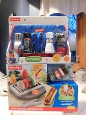 Fisher Price Servin Surprises Barbecue Set & Chef's Delight New